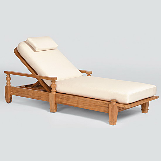 Teak Furniture Adagio Adagio Chaise Lounge