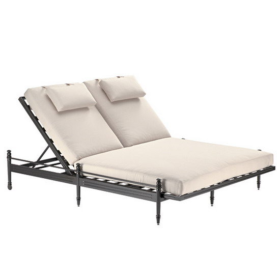 Metal Furniture Castillo Castillo Double Chaise Lounge