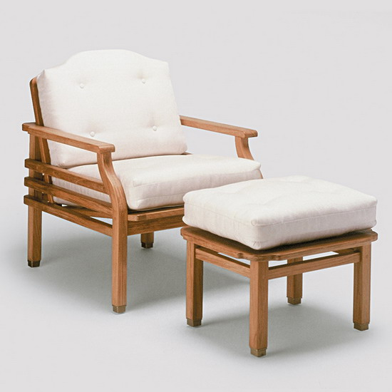 Teak Furniture Paradiso Paradiso Lounge Chair With Cushions